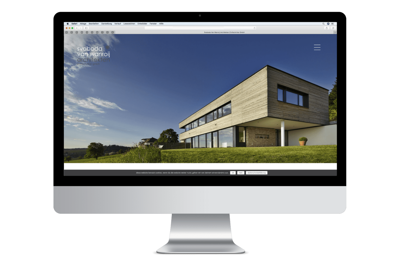 Neue Webseite von SVW Architekten