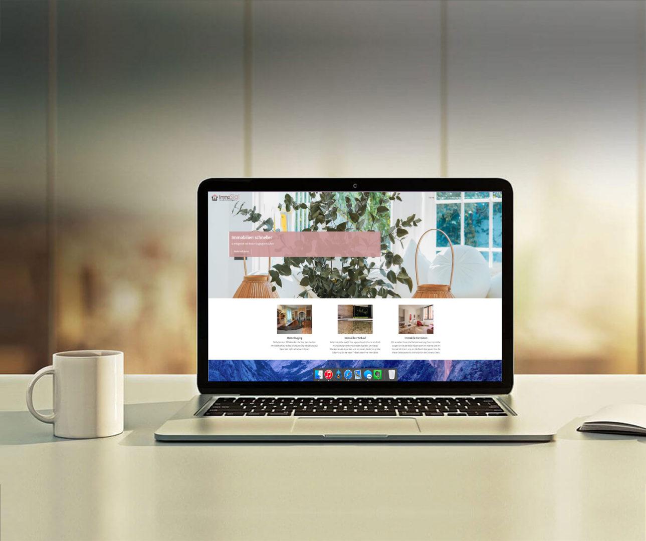 Eine klare Struktur und ein sauberes Design das mit vielen Bildern Home Staging erklärt und dem End-User näher bringt.